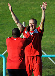 Jay DeMerit and Jozy Altidore