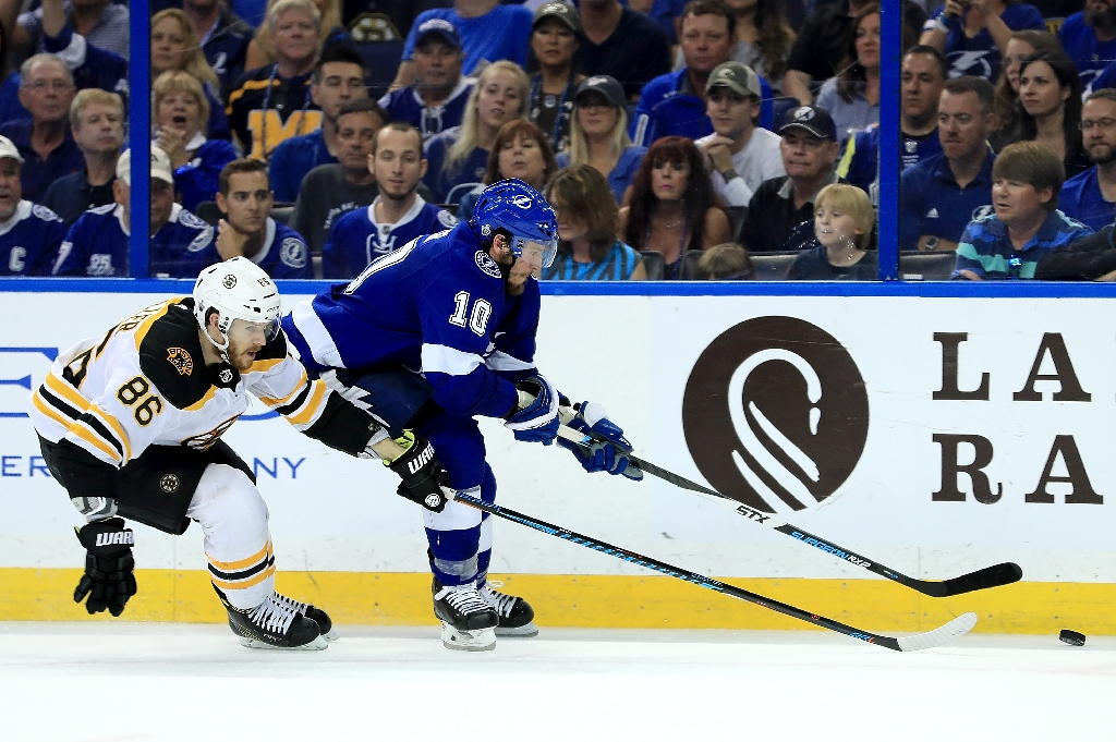 734a24c2637 Lightning Rally To Eliminate Bruins From NHL Playoffs