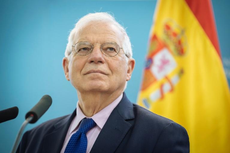 Spaniens Aussemninister kündiget Widerstand gegen die USA an | Bildquelle: https://news.yahoo.com © AFP Photo/Jure Makovec) | Bilder sind in der Regel urheberrechtlich geschützt