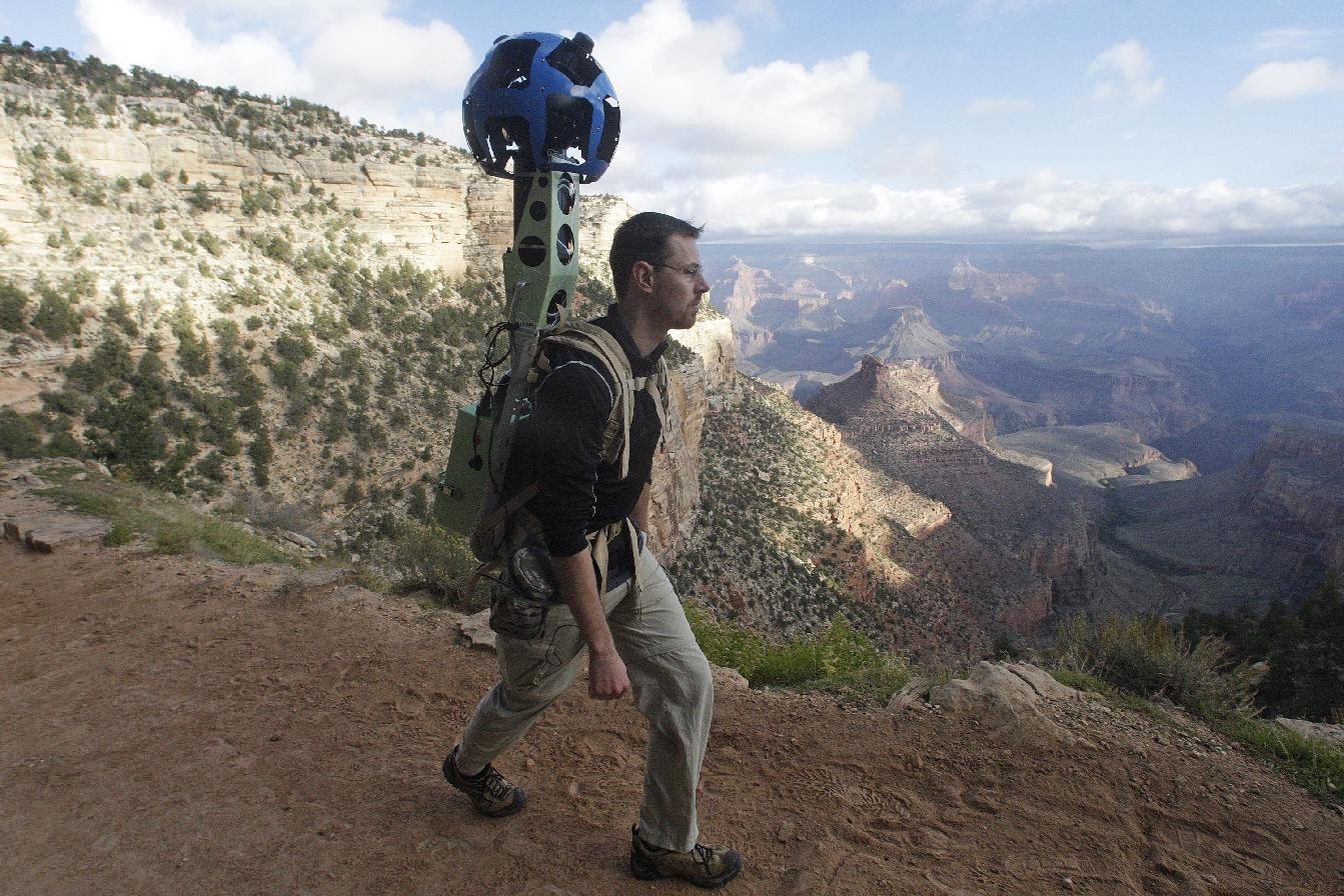 Google Cameras Map Popular Grand Canyon Trails