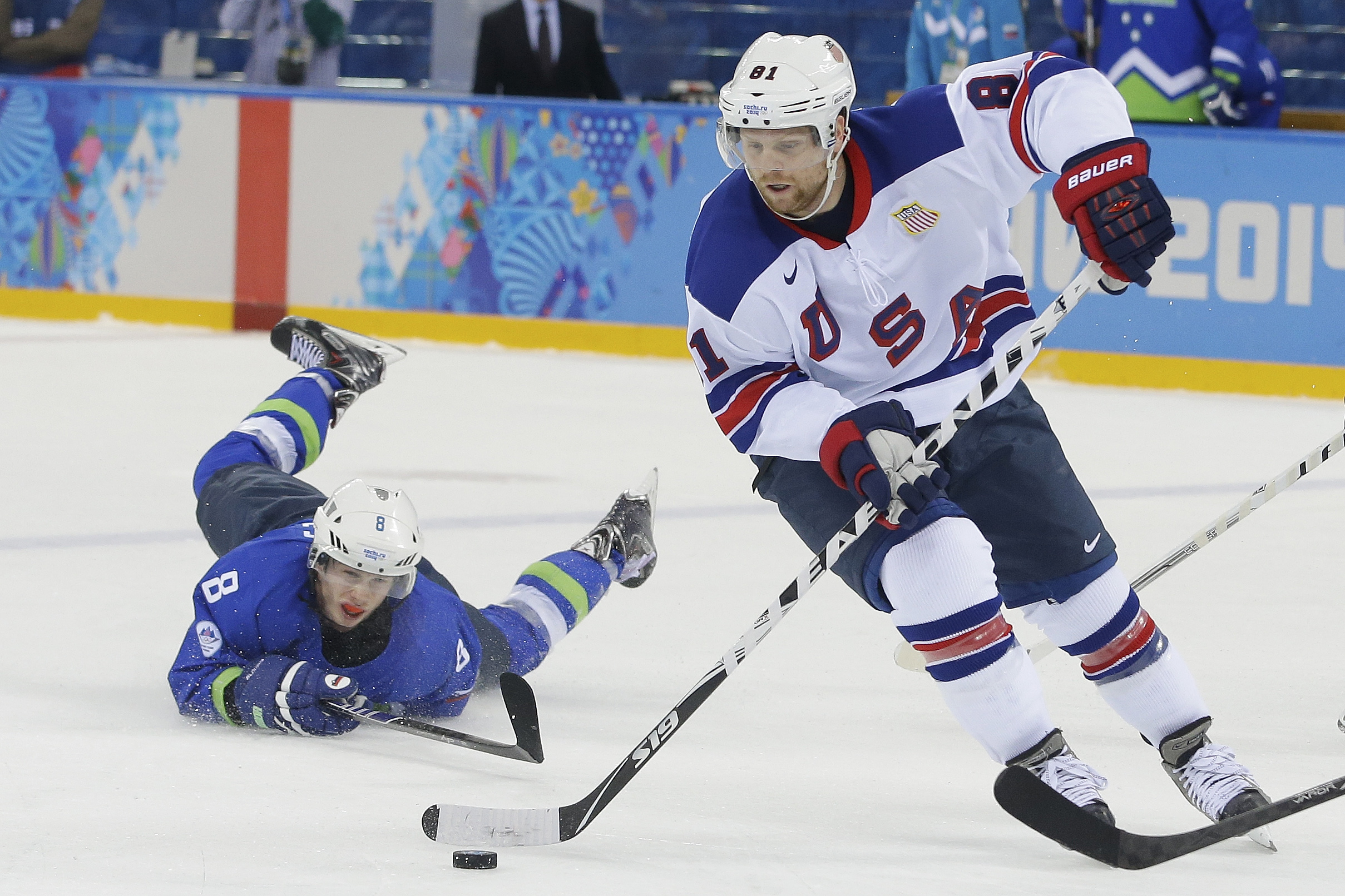5742a20c6 Phil Kessel s hat trick leads Team USA to win Group A