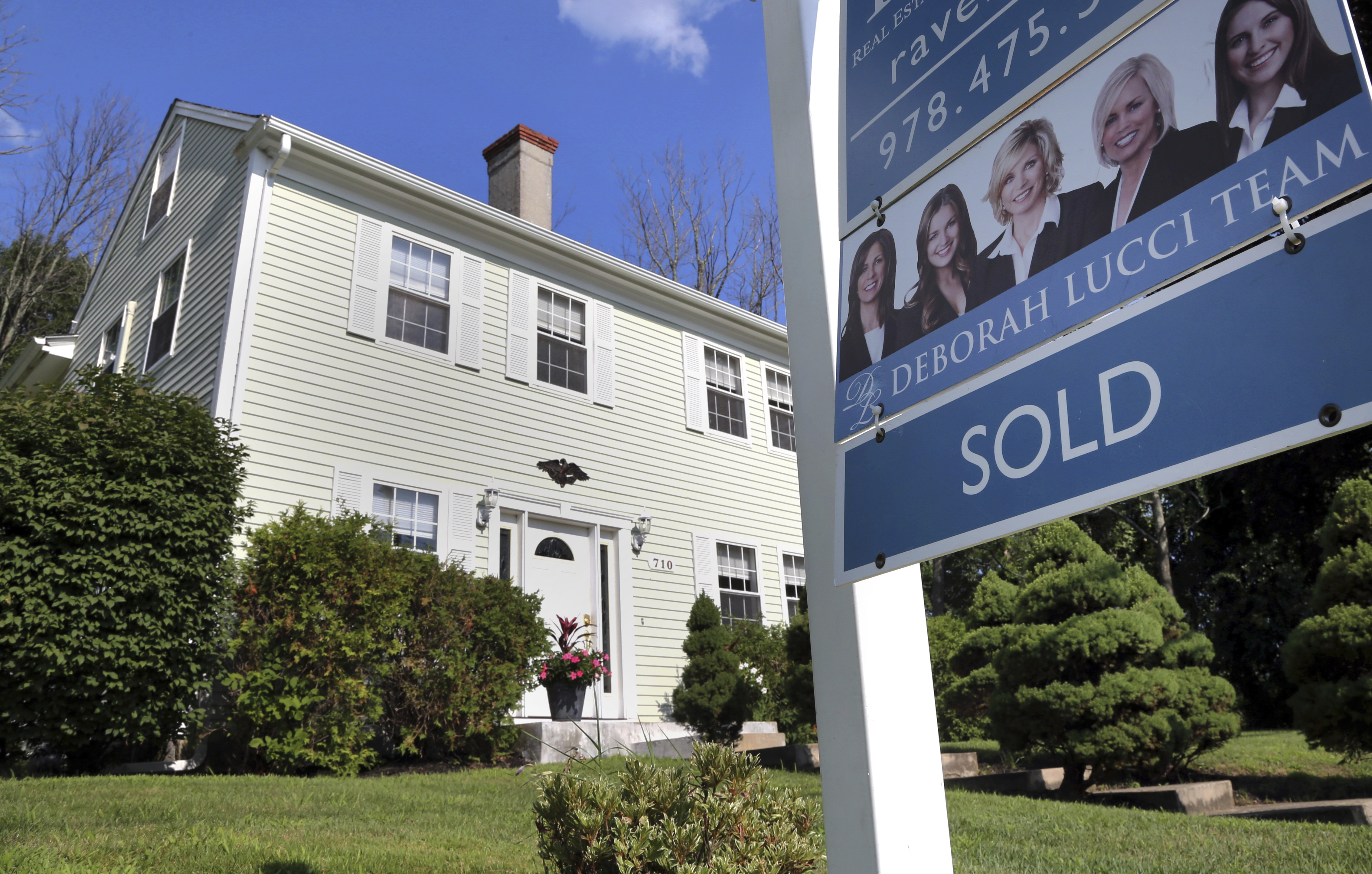 US home sales were flat in August