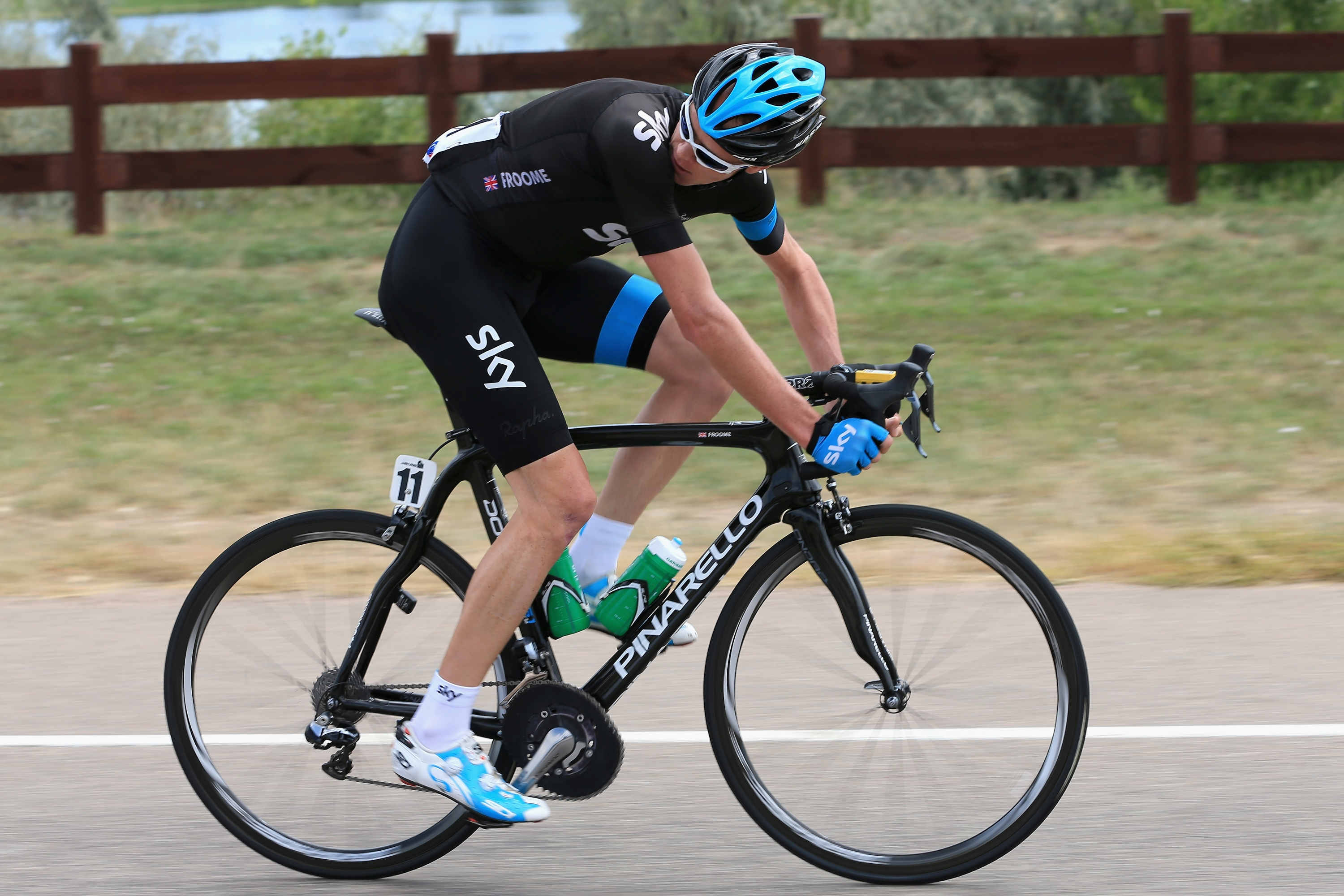 LOVELAND, CO AUGUST 24 Chris Froome of Great Britain