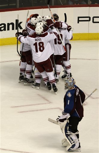 Doan scores late in OT to lift Coyotes by Avs, 3-2