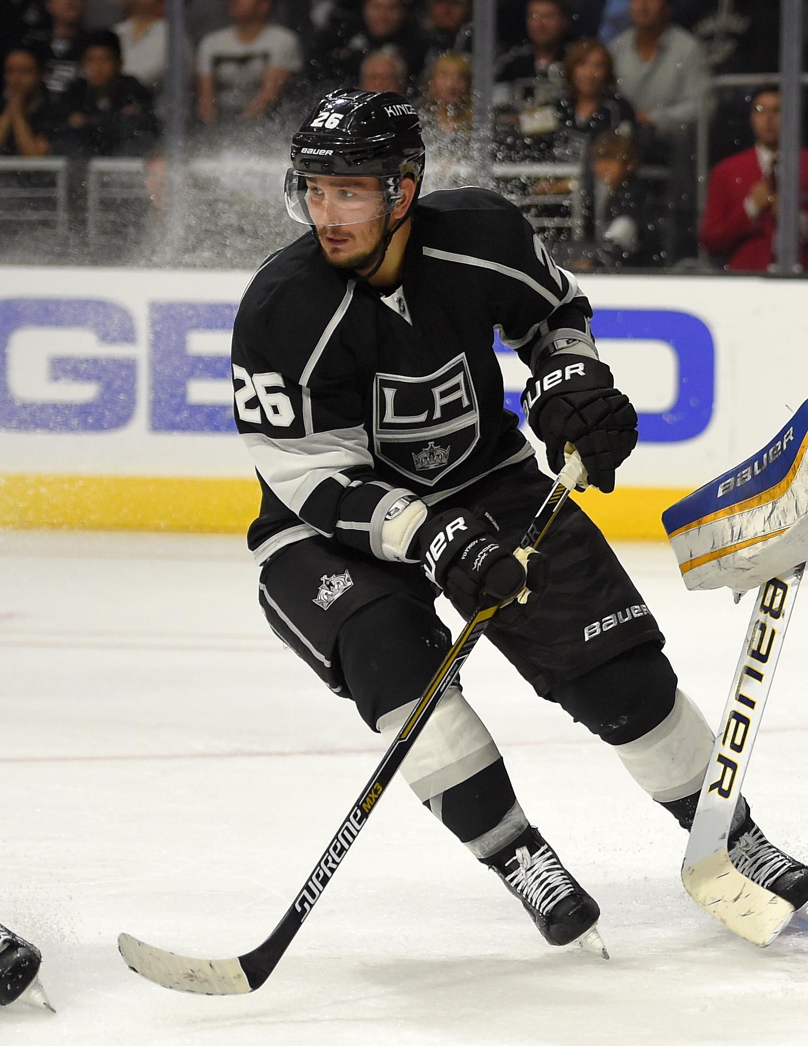 LA Kings: Suspended Voynov tore Achilles tendon, had surgery