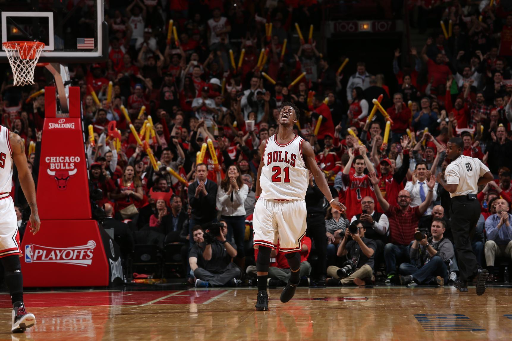 Butler scores 31, Bulls beat Bucks 91-82 to go up 2-0