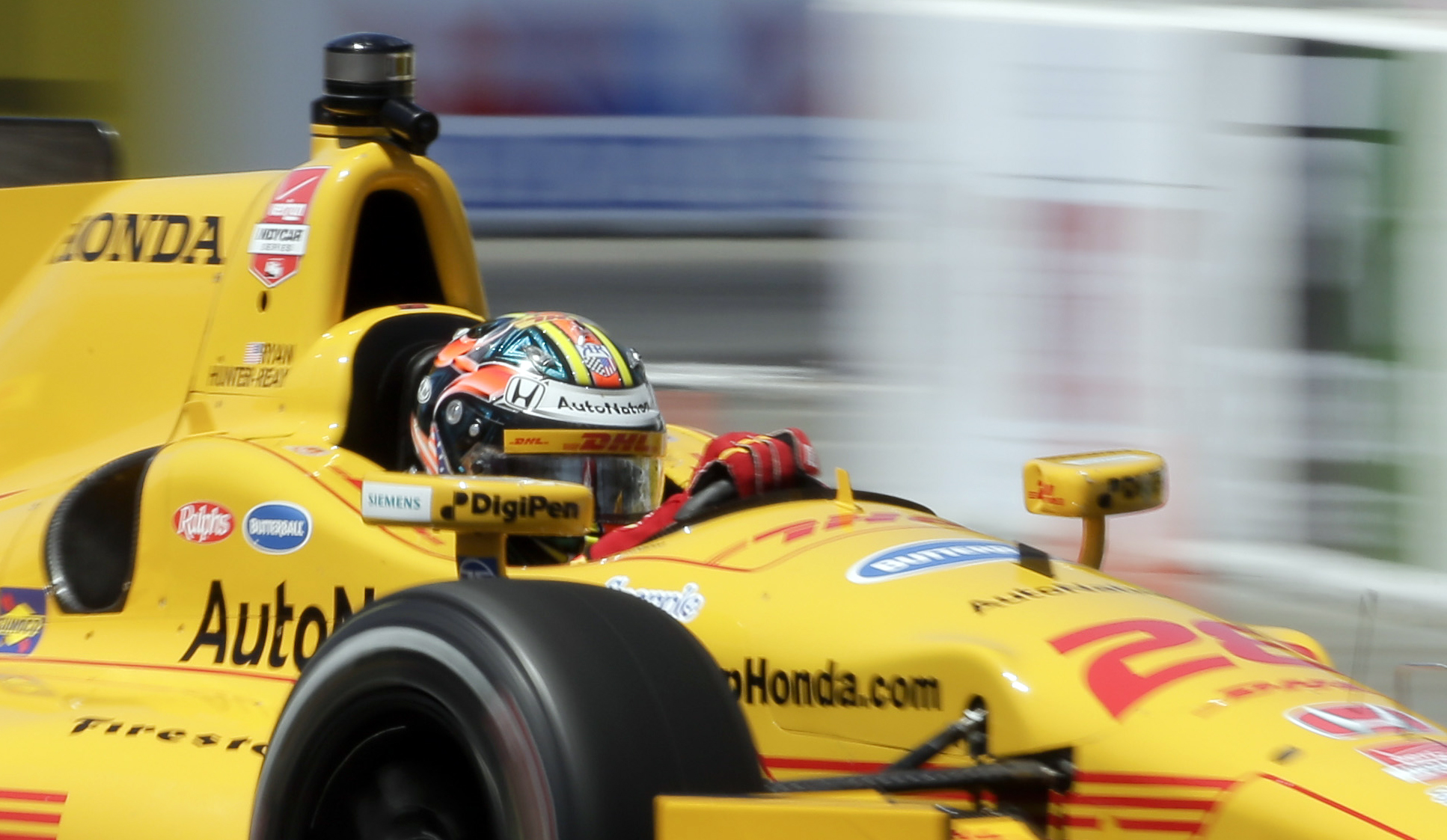 Hunter-Reay hoping for another pick-me-up at Alabama track