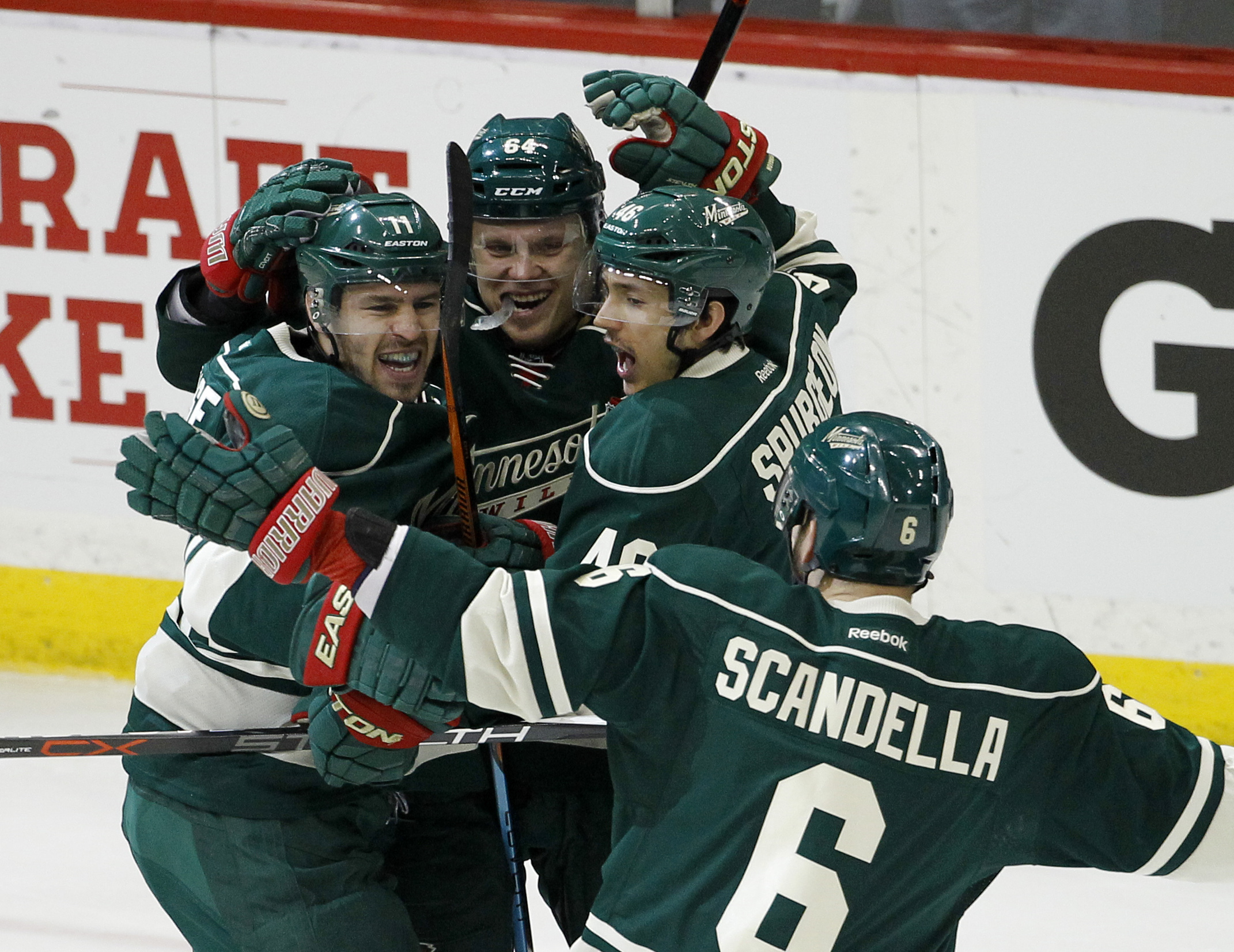 Blues pull Allen in 2nd period after 2nd goal by Wild