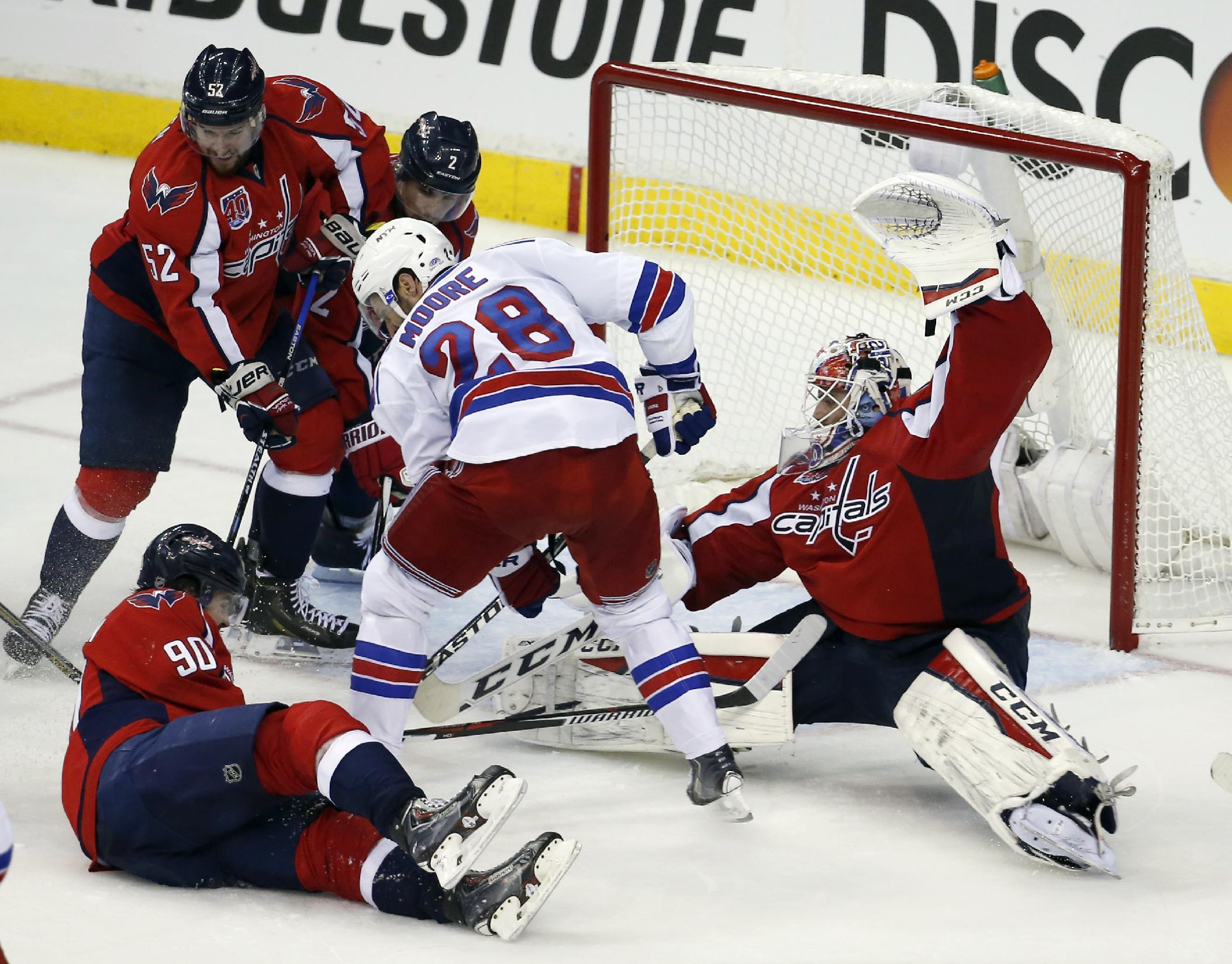 Less 'panic' helps Capitals in 1-goal games against Rangers
