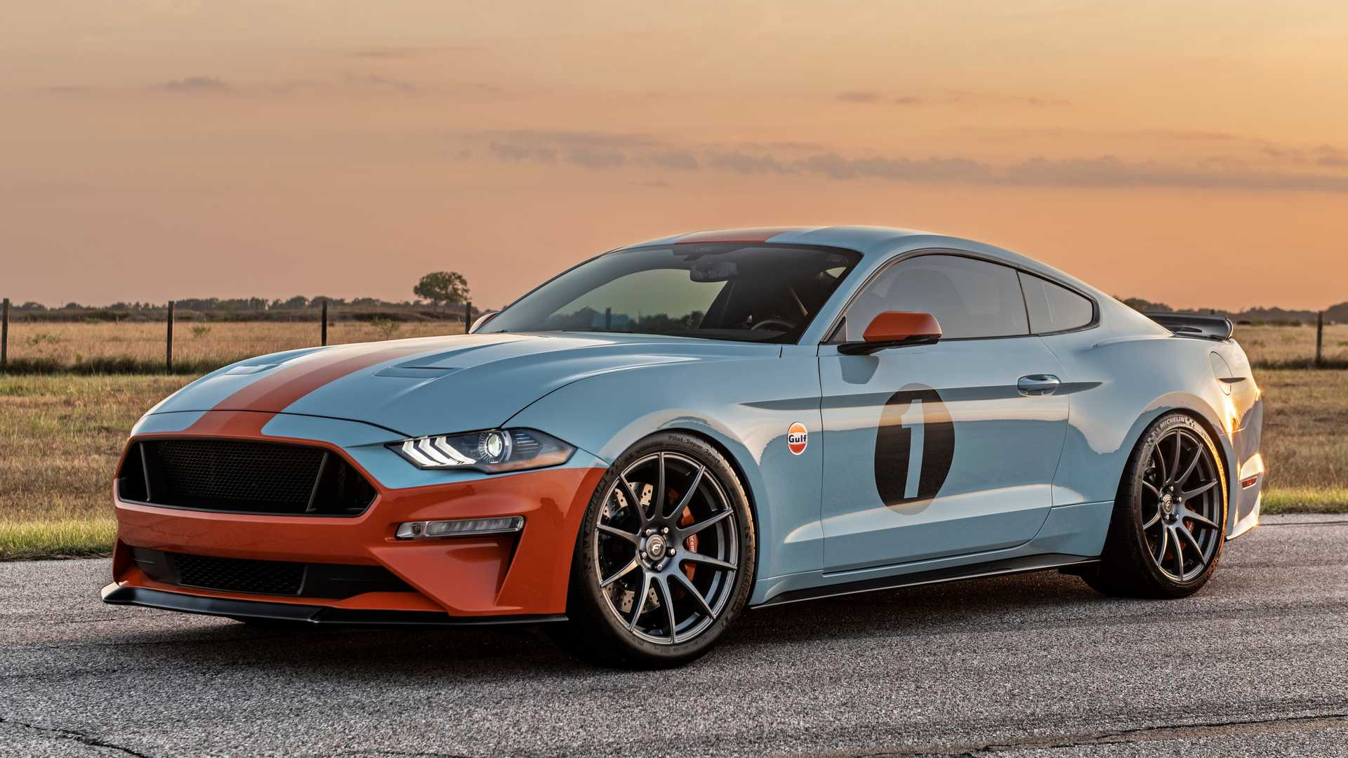 808HP Gulf Heritage Mustang Is For The Ultimate Ford Racing Fanatic