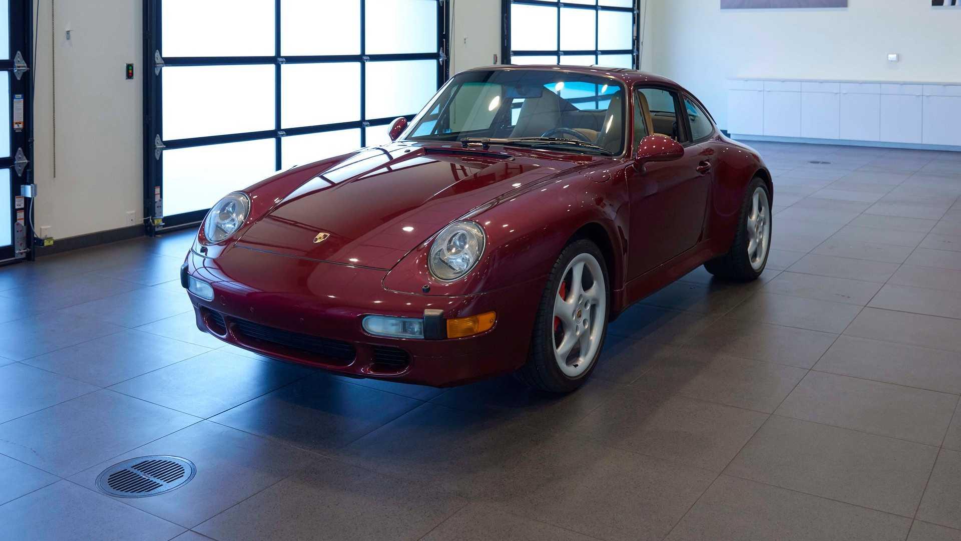 Air-Cooled Creampuff: 1996 Porsche 911 Carrera 4S