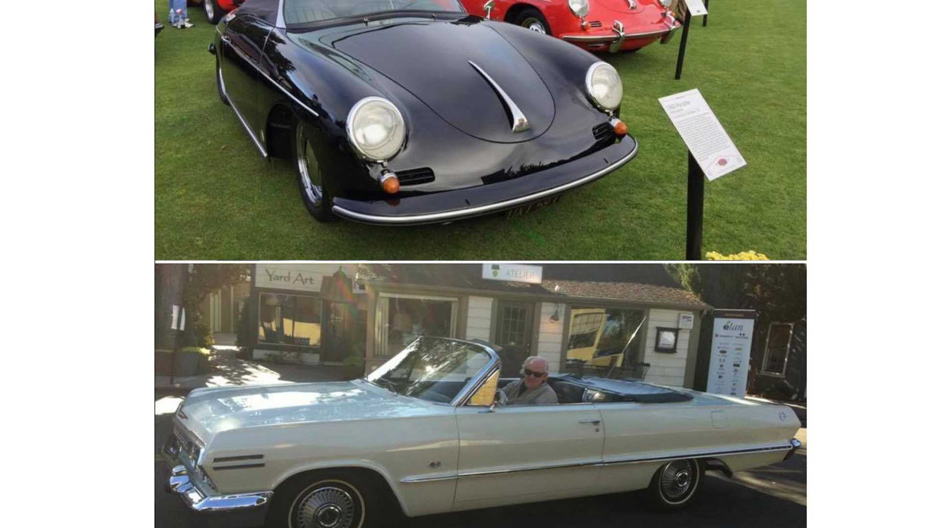 Three Classic Cars Stolen From CA Car Show