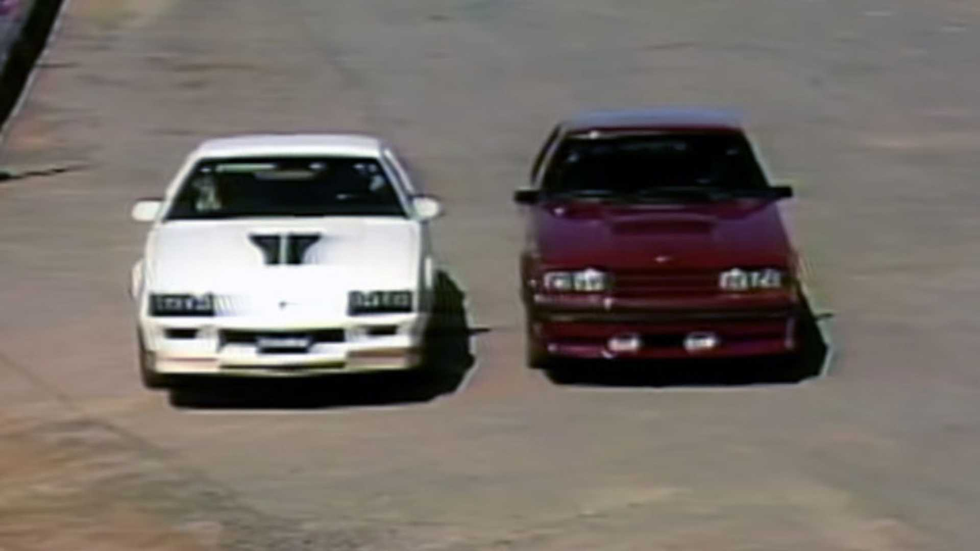 Video: Vintage MotorWeek Compares A Camaro Z/28, Mustang GT in 1982
