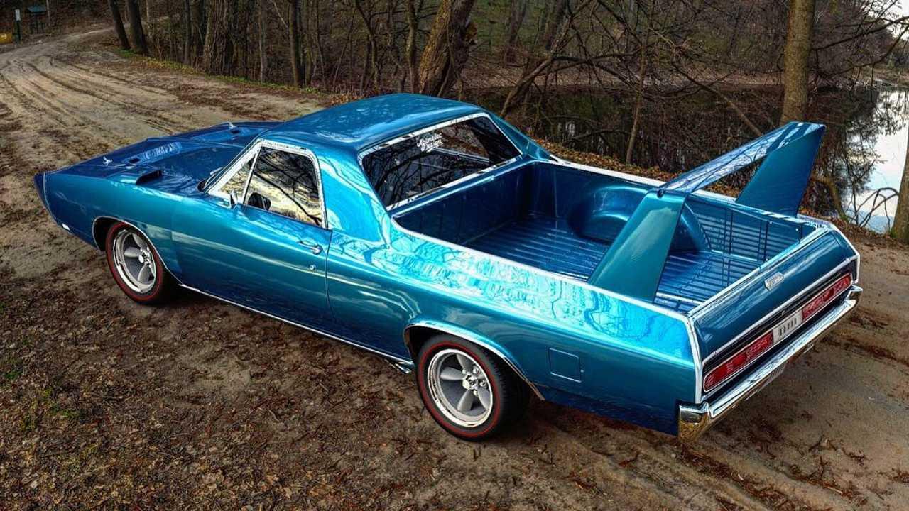 Joe Dirts Dream Car: Rendered Charger Daytona Truck