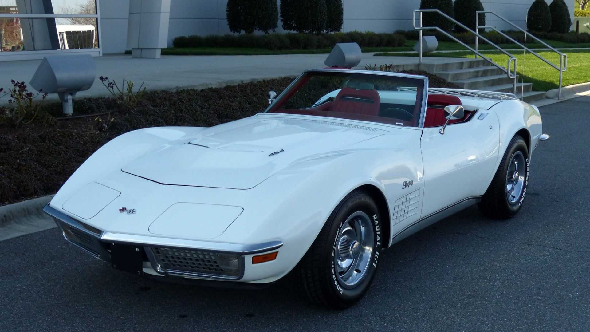 1971 Chevrolet Corvette Heads To Auction With No Reserve Feedimo