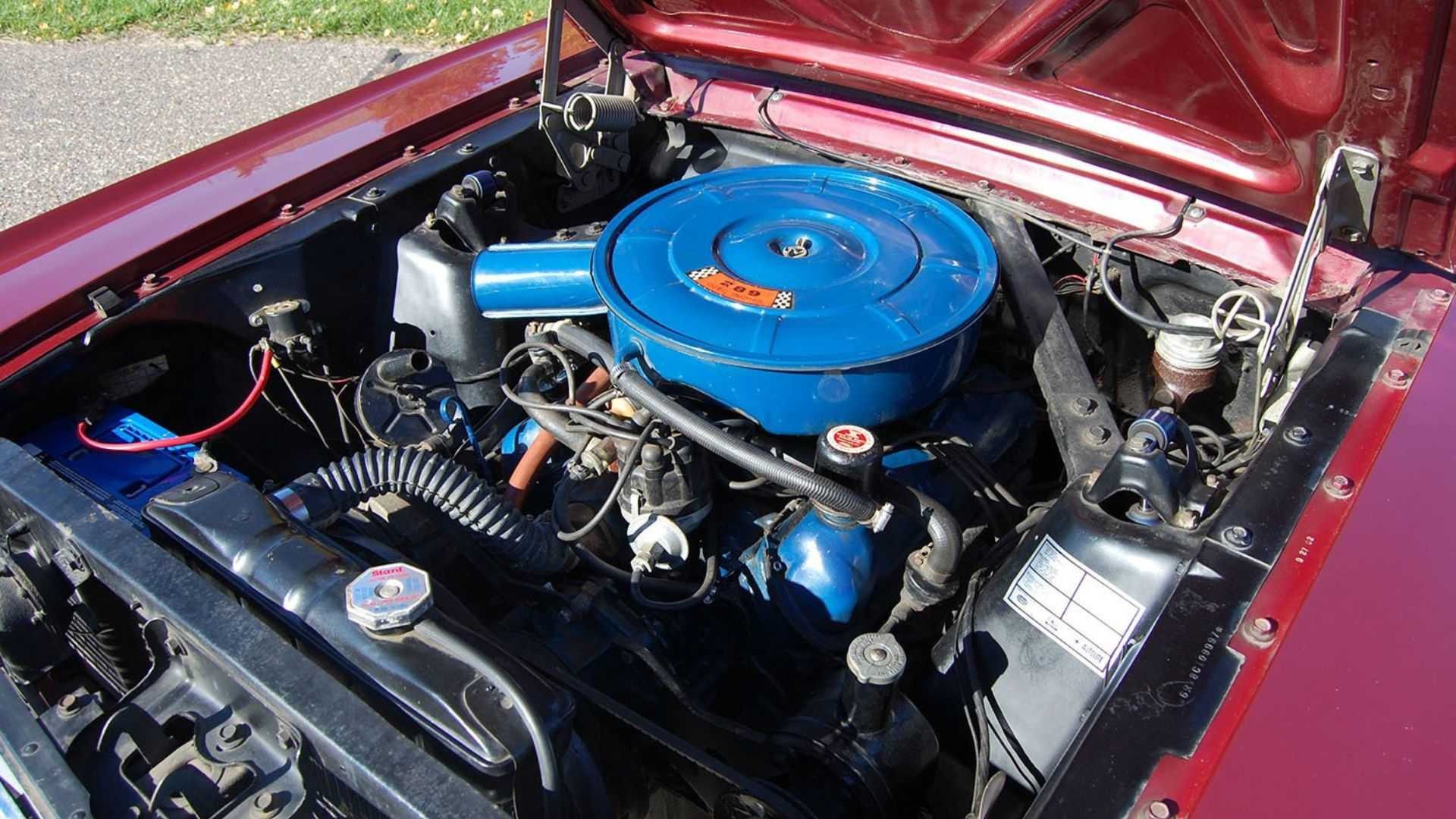 Grab This Survivor 1966 Ford Mustang Convertible