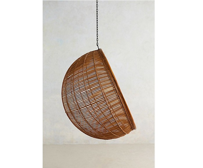10 easy pieces hanging rattan chairs shine from yahoo canada