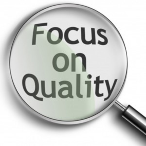Why Approving Low Value Sites Can Hurt Your Affiliate Program image focus on quality 300x300