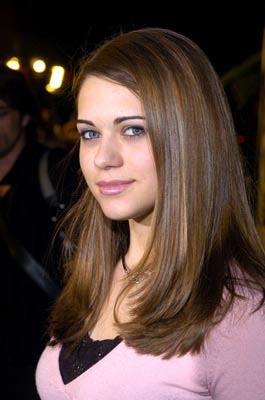 "Premiere: ""The Young and the Restless"" star Lyndsy Fonseca at the LA premiere of The Perfect Score - 1/27/2004Lester Cohen, Wireimage.com"