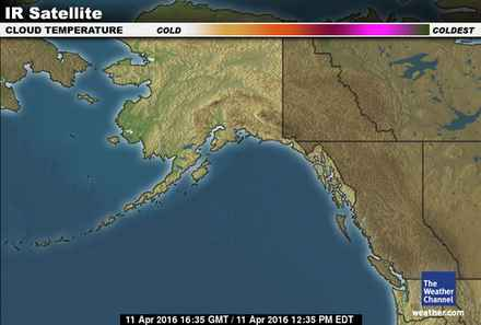 latest Alaska forecast