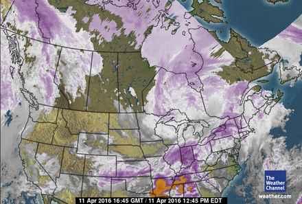 Canada Satellite image