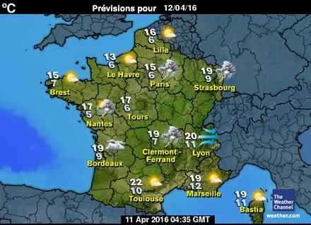 Carte France