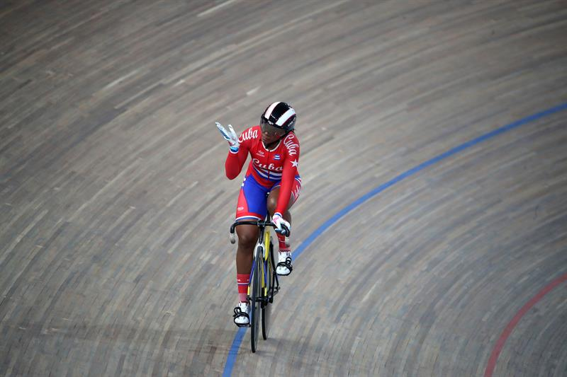 Die kubanische Weltmedaillengewinnerin Lisandra Guerra. | Bildquelle: https://t1p.de/4wsy © EFE/Orlando Barría | Bilder sind in der Regel urheberrechtlich geschützt