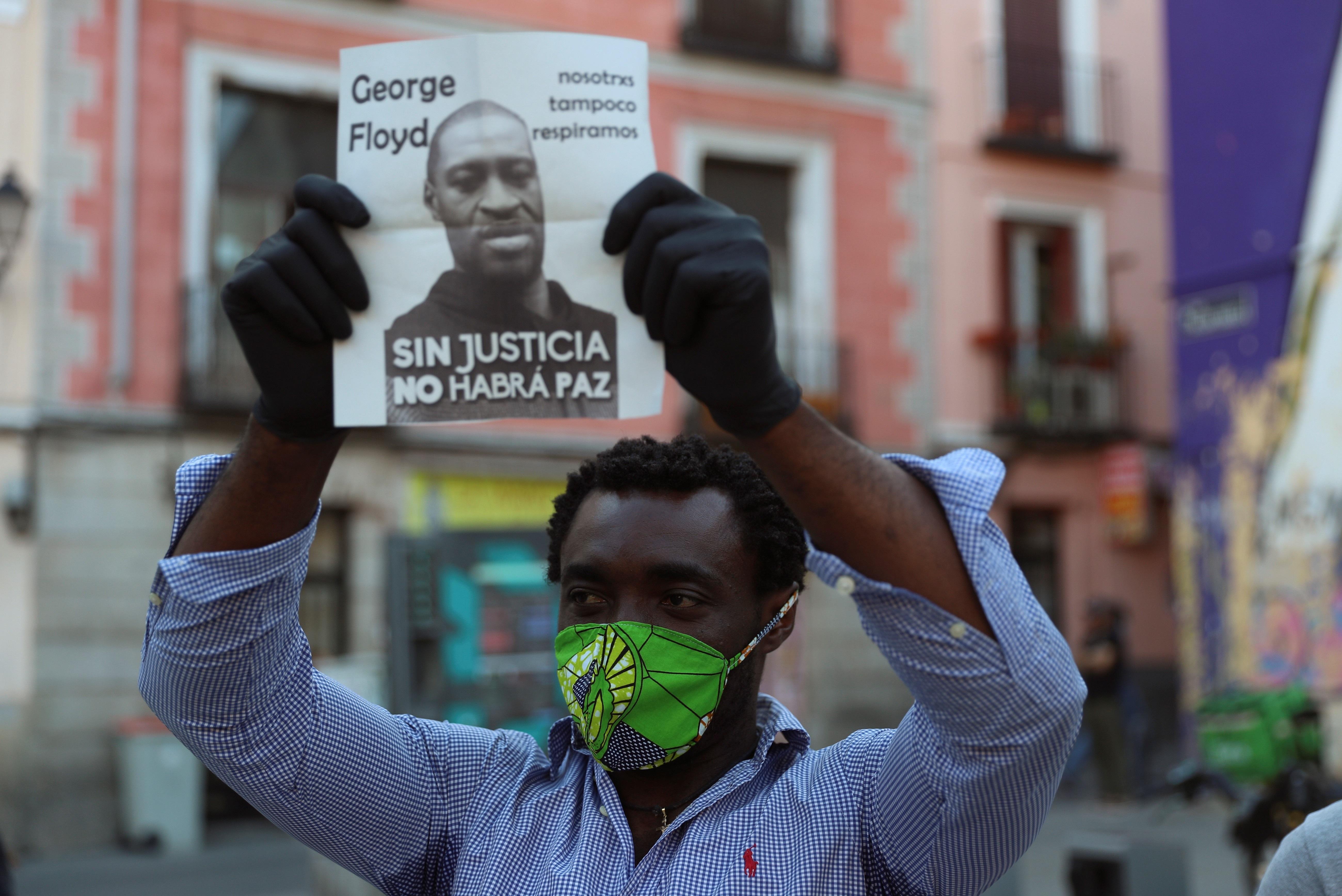 Protestas en EEUU por la muerte de George Floyd a manos de la policía
