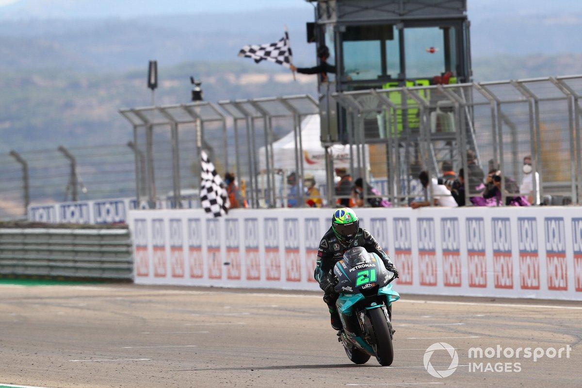 """GP de Teruel: Franco Morbidelli, Petronas Yamaha SRT<span class=""""copyright"""">Gold and Goose / Motorsport Images</span>"""