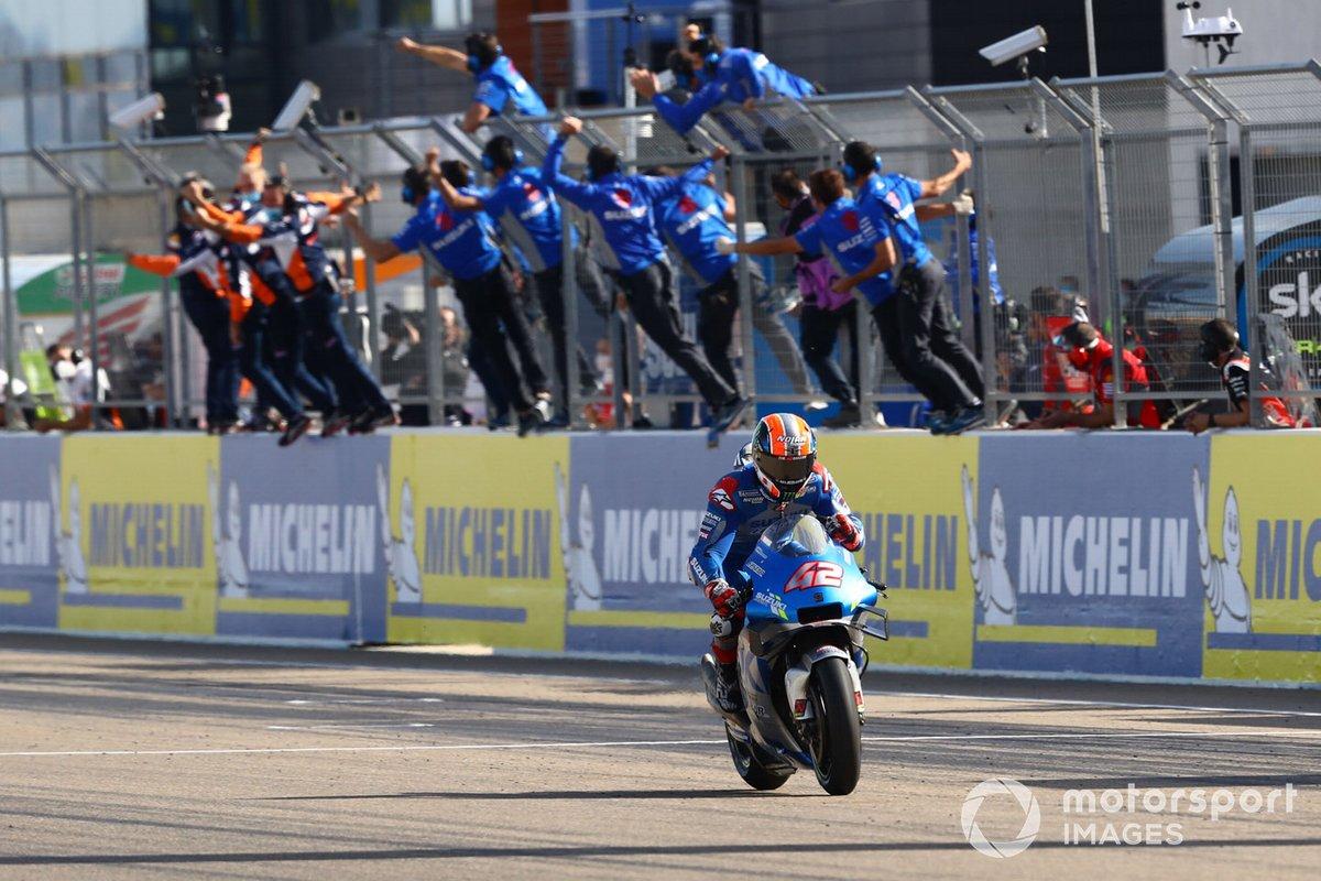 "GP de Aragón: Alex Rins, Team Suzuki MotoGP <span class=""copyright"">Gold and Goose / Motorsport Images</span>"