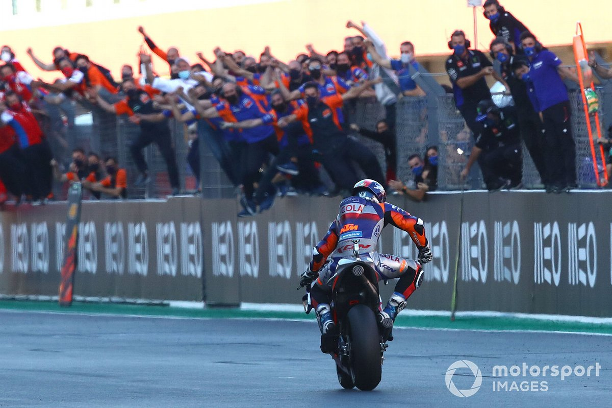 """GP de Portugal: Miguel Oliveira, Red Bull KTM Tech 3<span class=""""copyright"""">Gold and Goose / Motorsport Images</span>"""