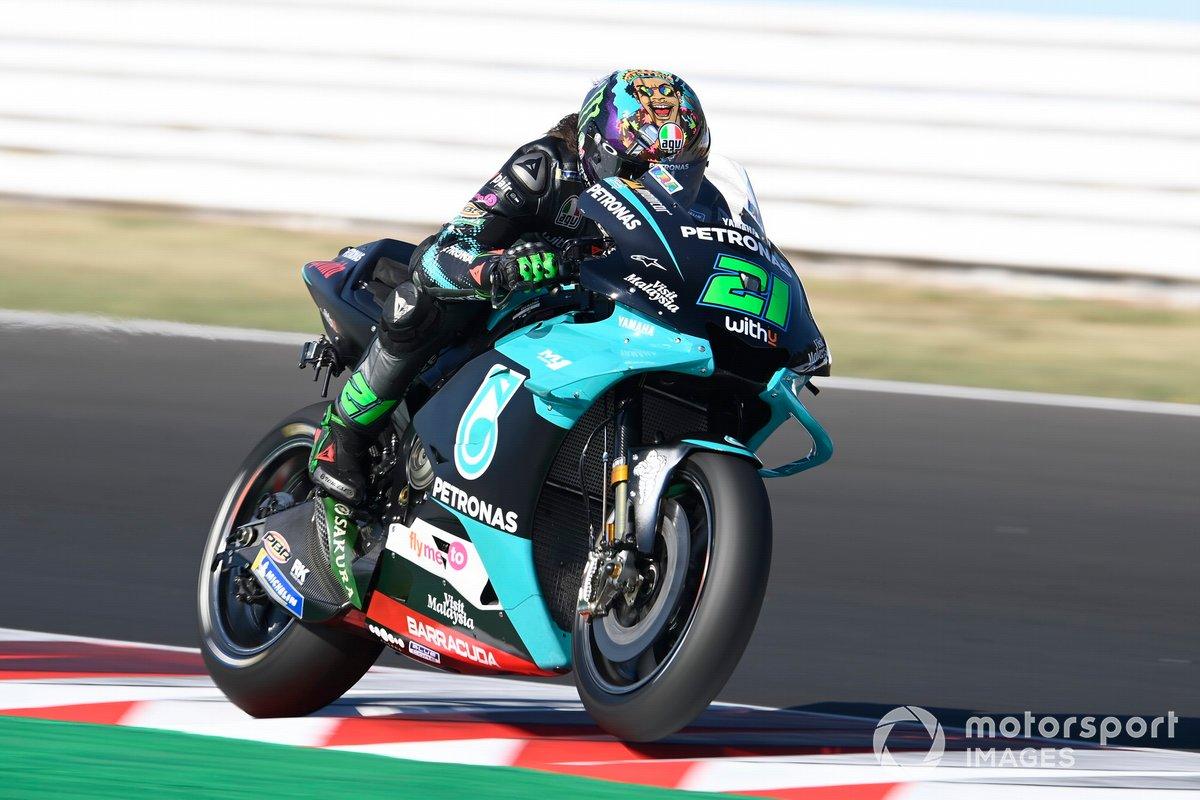 """GP de San Marino: Franco Morbidelli, Petronas Yamaha SRT<span class=""""copyright"""">Gold and Goose / Motorsport Images</span>"""