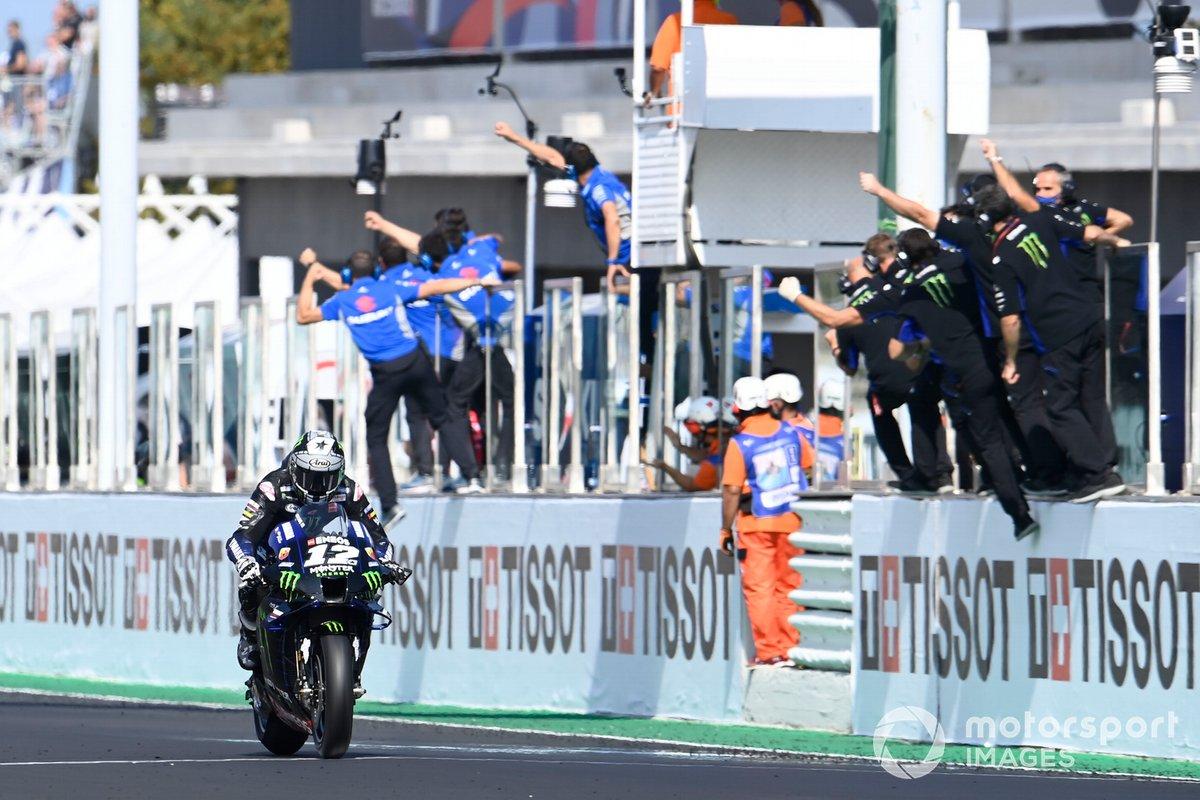 """GP de Emilia Romagna: Maverick Viñales, Yamaha Factory Racing<span class=""""copyright"""">Gold and Goose / Motorsport Images</span>"""