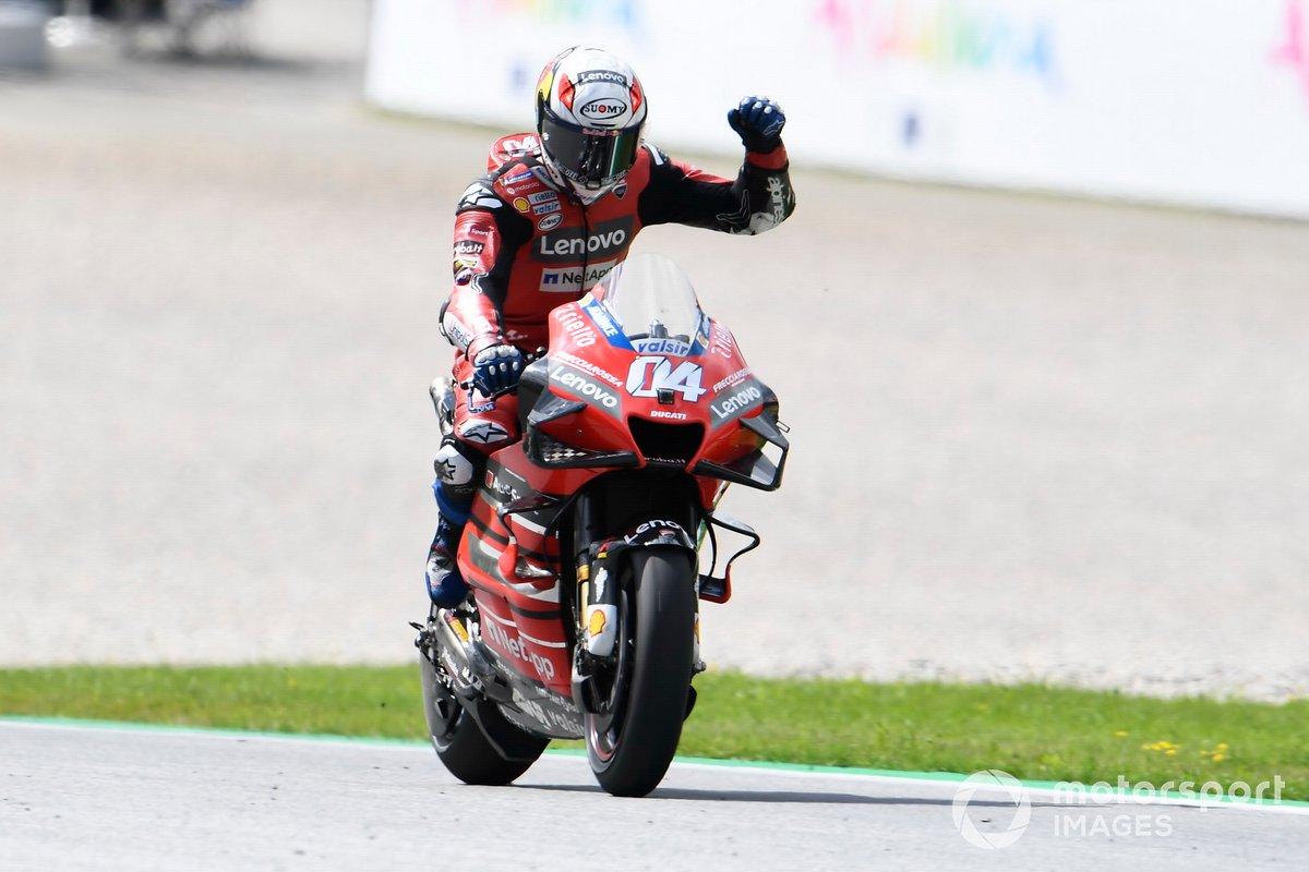 "GP de Austria: Andrea Dovizioso, Ducati Team<span class=""copyright"">Gold and Goose / Motorsport Images</span>"