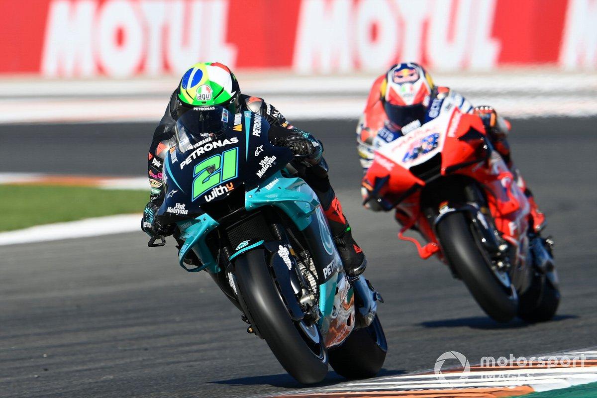 "GP de Valencia: Franco Morbidelli, Petronas Yamaha SRT<span class=""copyright"">Gold and Goose / Motorsport Images</span>"