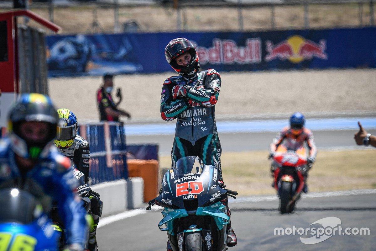 """GP de Andalucía: Fabio Quartararo, Petronas Yamaha SRT<span class=""""copyright"""">MotoGP </span>"""