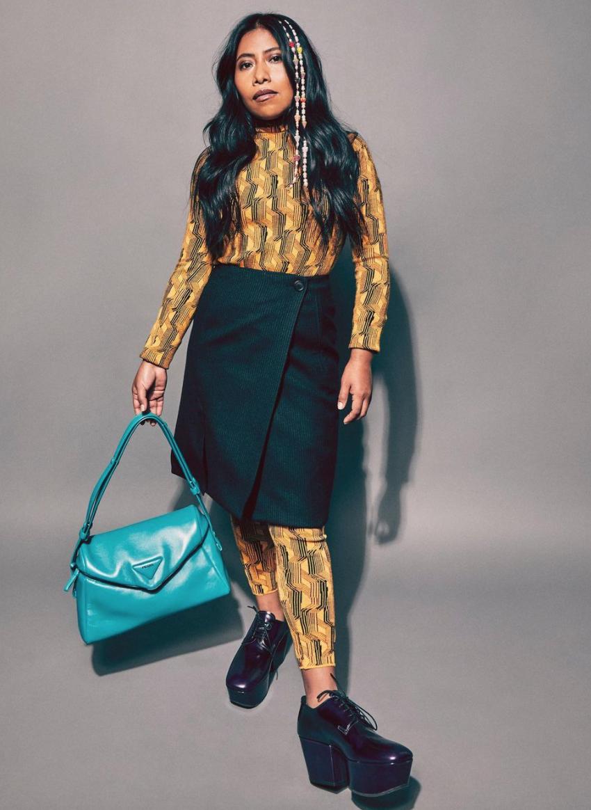 Yalitza Aparicio modela la nueva colección de Prada ¡Wow!