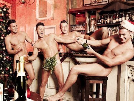 Los chicos de `Geordie Shore´ quitan el hipo desnudos