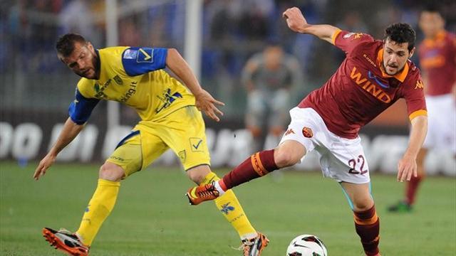 Serie A - Roma-Chievo: Thereau complica las opciones de llegar a Europa (0-1)