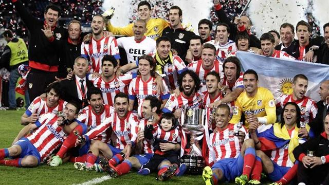 Copa del Rey - Real Madrid-Atl�tico: Vuelco a la historia para coronar al Atleti (1-2)