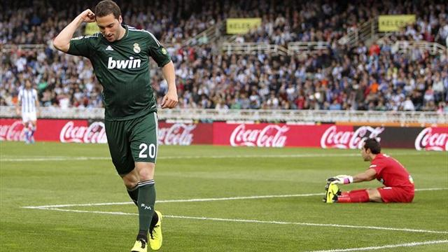 Liga - Real Sociedad-Real Madrid: Diego L�pez aleja la Champions (3-3)