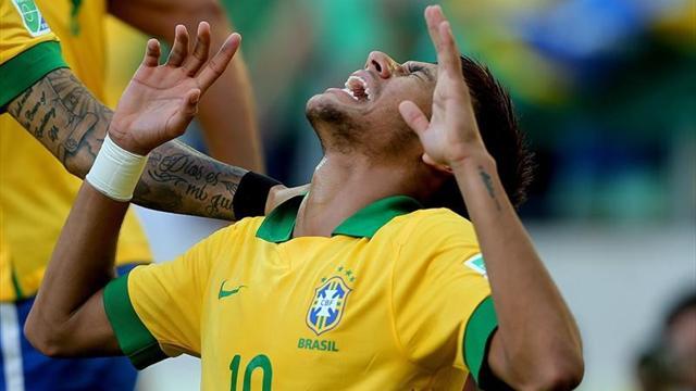 Copa Confederaciones - Brasil-M�xico: Neymar hace un canto a la rebeld�a para ir a semis (2-0)