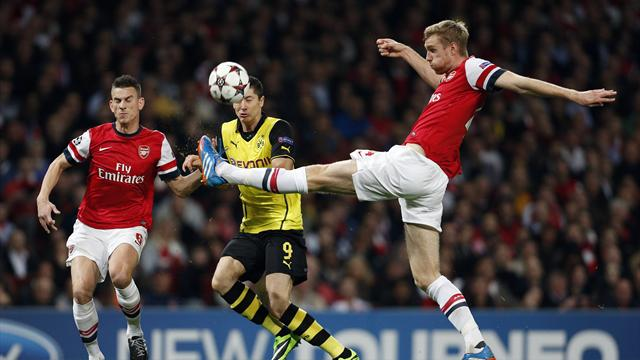 Champions League - Arsenal-Dortmund: �zil no pudo vengarse (1-2)