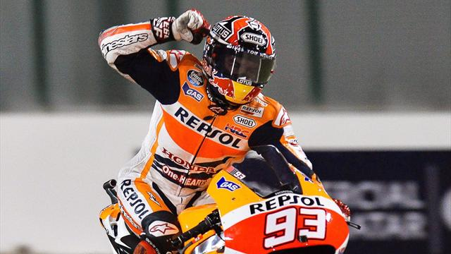 Gran Premio de Catar - MotoGP: M�rquez sigue exhibi�ndose ante Rossi