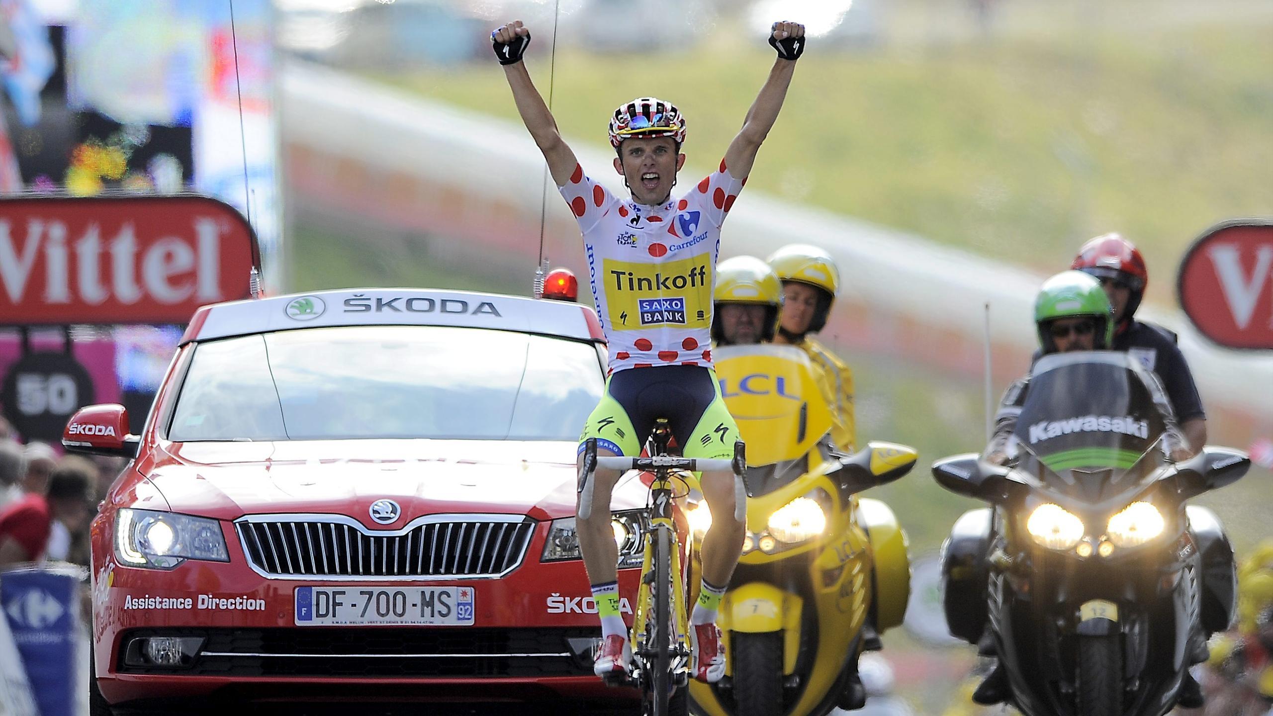 Tour de Francia - Majka da otra alegr�a a Contador
