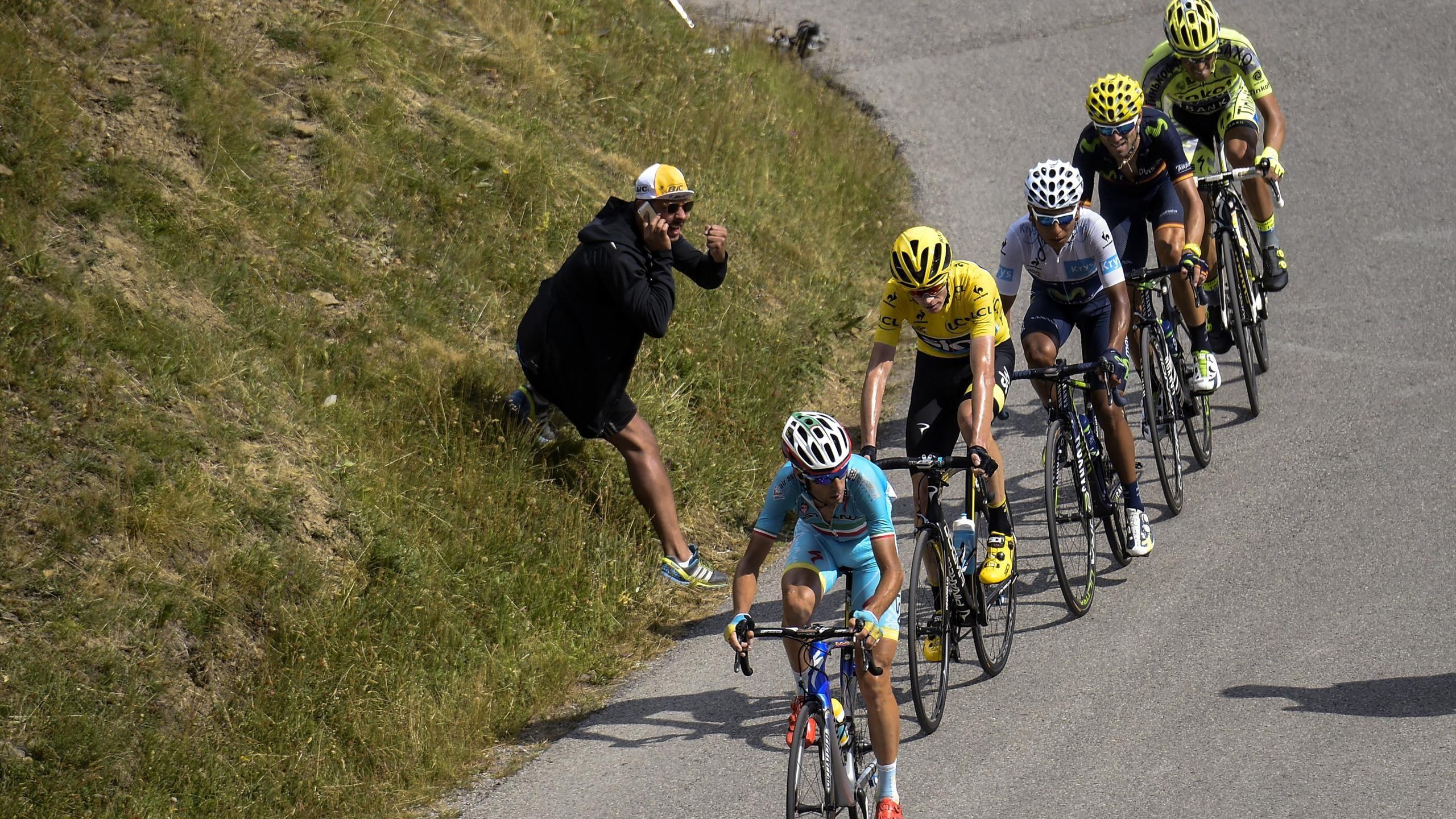 Tour de Francia - Tour de Francia 2015: Contador se cae y se aleja de casi todas sus opciones