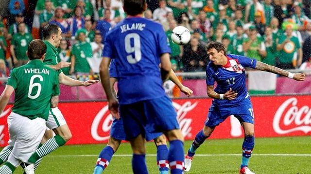 Croacia gana a Irlanda y se convierte en el rival de Espa�a