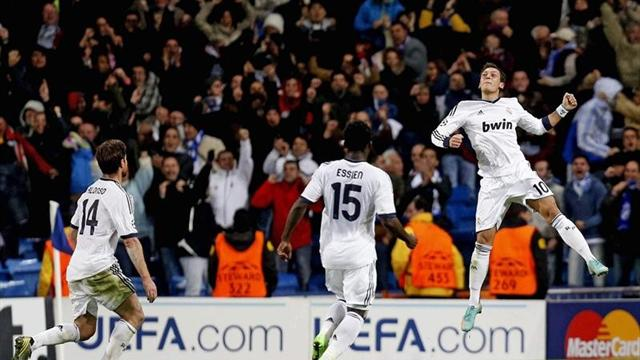 Champions League - �zil salva a un Real Madrid que tard� en despertar