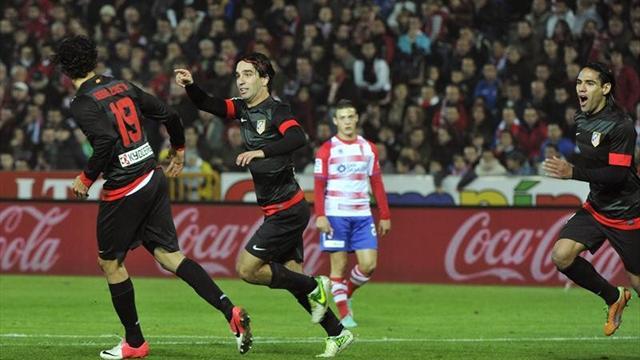 Liga - El Atl�tico se mantiene a la estela del Barcelona