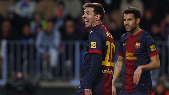 Liga - M�laga-Barcelona: Messi es el General Invierno (1-3)